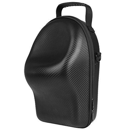 Price comparison product image ALLCACA DJI Goggles Case Waterproof Drone Storage Bag PU Travel Carrying Case with a Shoulder Strap,  Avoids Accidentally Pressing the on-off Button,  Suitable for DJI Goggles,  Black