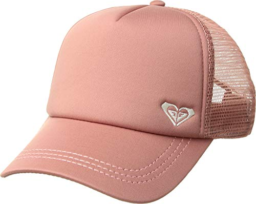 Roxy Junior's Finishline Trucker Hat, Withered Rose, One Size from Roxy