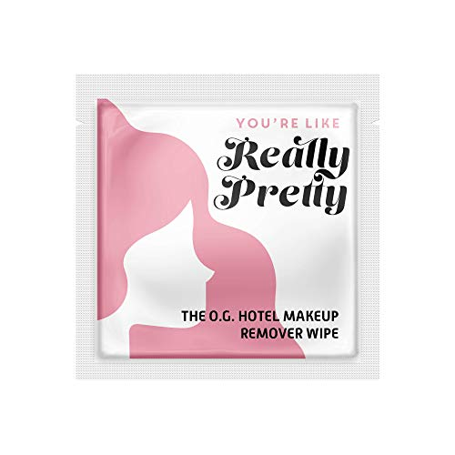 """LA Fresh Makeup Remover Facial Cleansing Wipes Pack of 50ct Individually Wrapped 6×8"""" Wipes Made With Vitamin E To Leave…"""