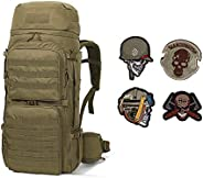 Mardingtop 50 Liter Internal Frame Backpack Tactical Backpack Military Backpack Molle Bag with Rain Cover for