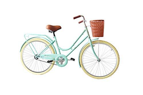 Black Panther Bicicleta Vintage Retro Clasica Rodada 24 Modelo Maja Equipada- Verde Men