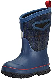 MCIKCC Kids' High Waterproof Rubber Rain and Snow Boot Multiple Color Opt
