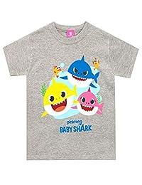 Pinkfong Boys' Baby Shark T-Shirt