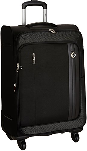 VIP Polyester 43 cms Black Softsided Suitcase (STUNXW67BLK)