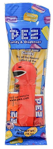 Power Ranger Jungle Fury Costume (PEZ Power Rangers Assorted Candy Dispensers, 0.58 Ounce (Red Ranger))