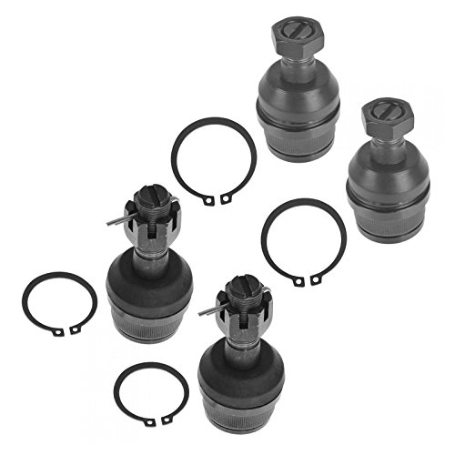 4 Piece Kit Upper Lower Ball Joint LH RH Set for Ford F150 F250 Bronco
