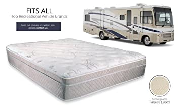 Amazon Com Ultimate Dreams Eurotop Short Queen Rv Latex Mattress