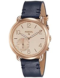 Fossil Q Tailor Gen 2 Hybrid Blue Leather Smartwatch
