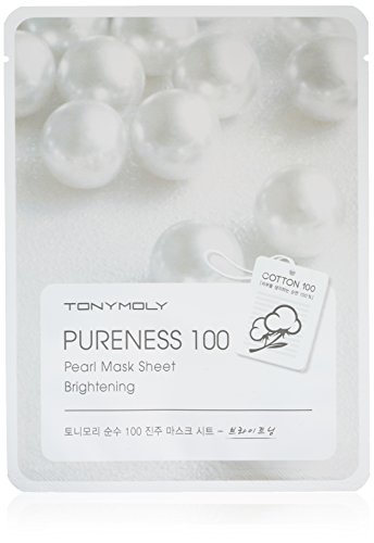 TONYMOLY Pureness 100 Pearl Brightening Mask Sheet
