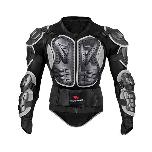NCBH Motorcycles Armour Jacket Motocross CS Field Off-Road Protective Armor Hard Shell Protective Clothing Shockproof Clothing,XXXL