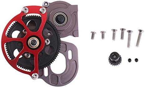 Sharplace Caja de Transmisión Caja de Cambios de Metal Transmission Case Gearbox para 1:10 Axial SCX10 RC Coche Tractor: Amazon.es: Juguetes y juegos
