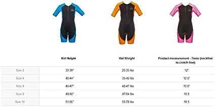 Core Warmer Aqua Sphere Stingray Childrens UV Protection Shorty Wetsuit