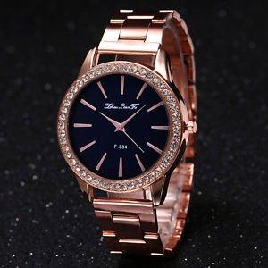 53b654f9bae SLB Works Brand New Fashion Rose Gold Tone Ladies Watches Women Softech  Quartz Wrist Watch HOT NEW  Amazon.in  Watches