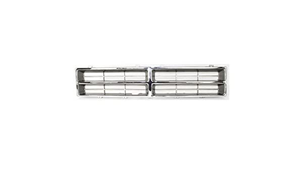 Partomotive For NEW 86-90 Ramcharger Pickup Truck Grill Grille Insert Assembly CH1200107 4249803