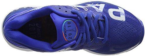 Asics Gel-Nimbus 20 Paris Marathon, Zapatillas de Running Para Mujer Azul (Imperial/imperial/white 4545)