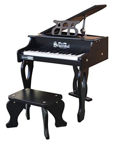 Schoenhut Toy Piano Black, One Size