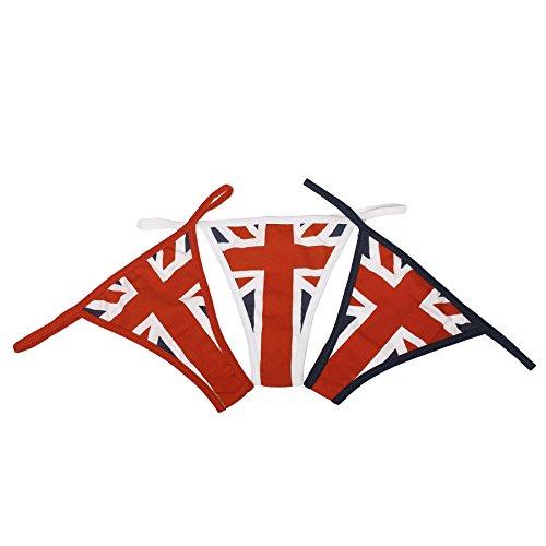 Bandiera Perizoma Uk di Cotone 1 Bandiera Bandiera Usa Croce Uk in Navy Rosso San Blu Donna Giorgio Bianco IUXwrqX