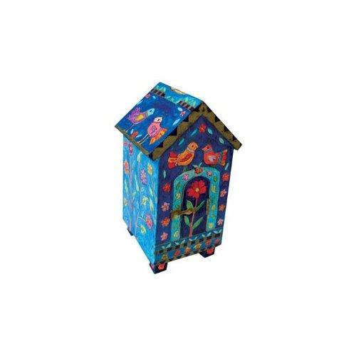 Yair-Emanuel-House-Tzedakah-Box-With-Birds-and-Flowers