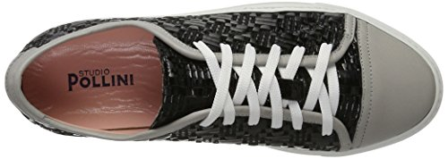 Pollini Sa10141G9Xdn, Sneaker Donna, Nero, EU 40