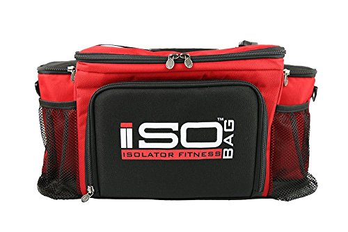 Isobag 6 Meal Reverse Red/Black by Isolator Fitness