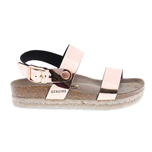 Es Cameron 41 Genuis Aaq7drw Zapatos Sandalias Mujer Y Amazon Oro WEDH29YI