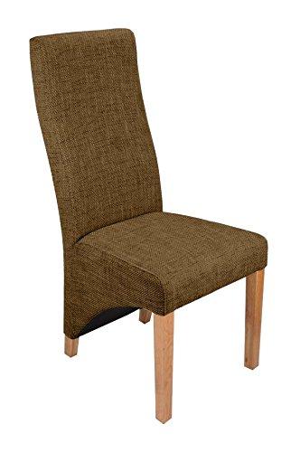 Tavolo estensibile in quercia massiccia con sei sedie in ...