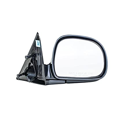 Dependable Direct Right Passenger Side Textured Mirror for 94-97 Chevy S10, 95-98 Blazer - Part Links # GM1321126: Automotive