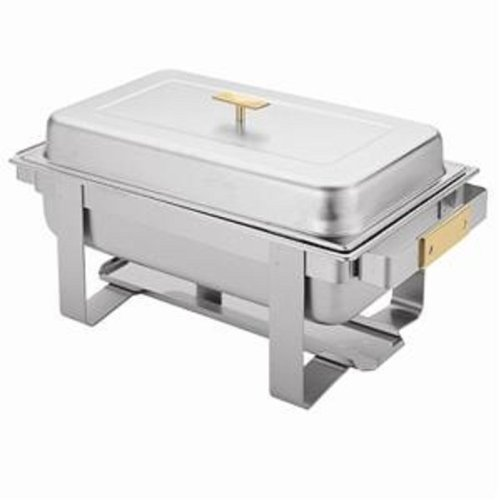 CHAFER INTEGRATED FRAME 8 QUART STAINLESS STEEL BANQUETS CATERING BUFFET