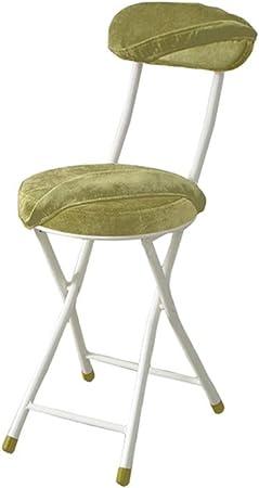 Verdes Sillas de comedor, sillas de picnic plegable de peso ligero, tela silla, sillas pequeña oficina, sillas de ordenador, sillas plegables de camping, buen rendimiento de carga - 2 estilos disponib: Amazon.es: