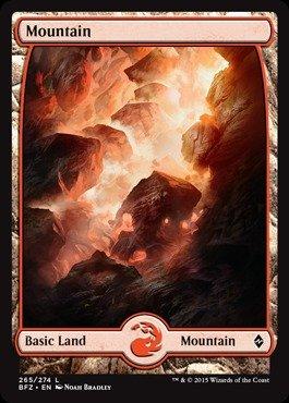 (Magic: the Gathering - Mountain (265) (265/274) - Battle for Zendikar -)
