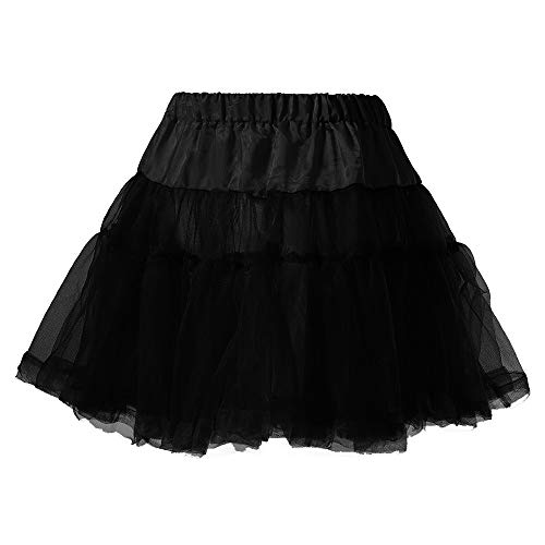 Women Short Skirt Sexy Solid Pleated Mini Skirt Low-Waisted A-line Club Flared Casual Uniform Mini Skirts (XL, Black 2)