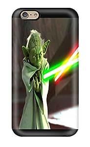 Diy Yourself Cute Tpu DanRobertse Star Wars Attack Clones Yoda Lightsaber Sword case cover For Iphone Z9vngKHE5Z3 6 WANGJING JINDA