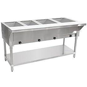 Advance Tabco HF-4G-NAT Natural Gas Hot Food Table