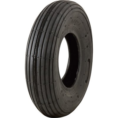 Marathon Tires Pneumatic Wheelbarrow Tire - Tire Only, 4.00-6in.