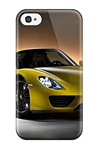 Egbert Drew's Shop Protection Case For Iphone 4/4s / Case Cover For Iphone(2014 Porsche 918 Spyder) 7572182K69037431