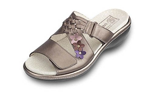 UK 7 Women's 6E DB Sandals 'Sherborne' 6E Wide 4E Mule Wide xx8qPnOwg