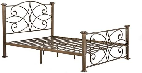 Hodedah Complete Metal Twin-Size Bed