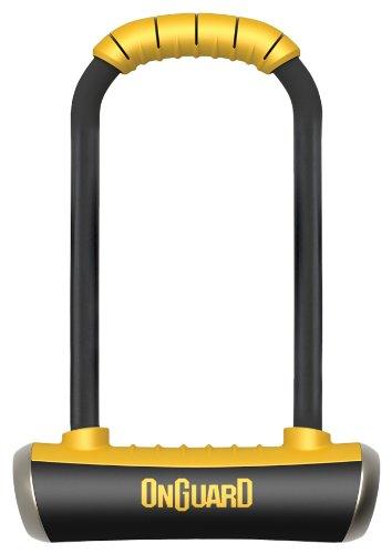 ONGUARD Pitbull Mini LS U-Lock (Black, 3.55 x 9.46-Inch) by ONGUARD