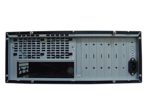 Apevia X-MASTER-AL/500 ATX Desktop/Media Center/HTPC Case, Fits Standard ATX/Micro ATX Motherboard, 500W ATX Power Supply, 2 x 80mm Fans, USB2.0/Firewire 1394/HD Audio Ports - Silver by Apevia (Image #7)