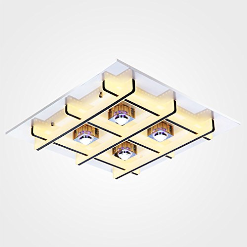Stylish minimalist LED Ceiling lamp Bedroom Living room Study Children Ceiling Lamp - Pendant Bound Glass Lantern Light