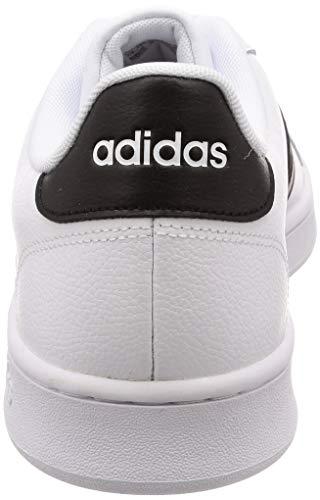 ftwbla 000 Da Tennis negbás Scarpe Adidas ftwbla Bianco Grand Court Uomo vTwfBcUzaf