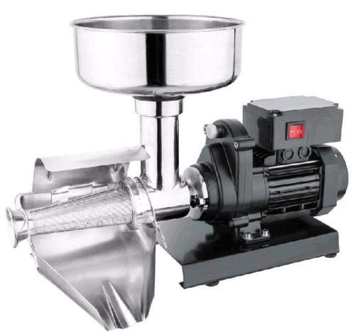 Tomato Squeezer - WYZworks Commercial Grade Electric Tomato Strainer Mill Press Machine