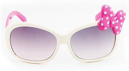 QPRER Gafas De Sol,Mariposa Blanca Princesa Gradiente Espejo ...