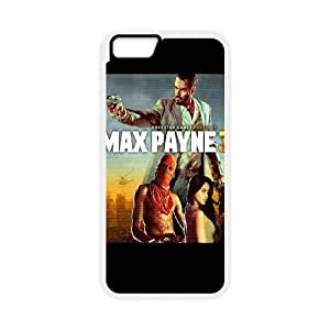 iPhone 6 Plus 5.5 Inch Cell Phone Case White Max Payne 3 LV7123409
