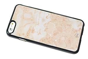 1888998644883 [Global Case] Mármol Piedra Cerámico Azul Playa Guijarro Marfil Rock Gris Elegante Lujo Prima Cristales Metamórfico (NEGRO FUNDA) Carcasa Protectora Cover Case Absorción Dura Suave para HTC ONE S