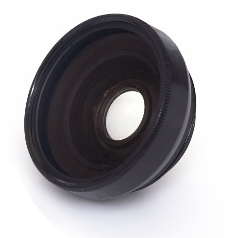 0.45x High Grade (Black) Wide Angle Conversion Lens (30mm) For Sony Handycam DCR-SR67