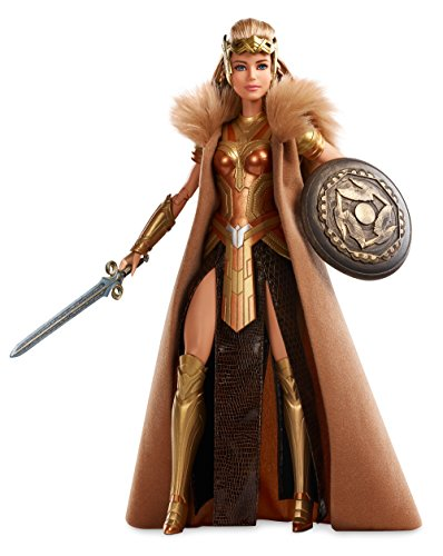 Barbie Wonder Woman Queen Hippolyta Doll (Barbie Super Hero Movie)