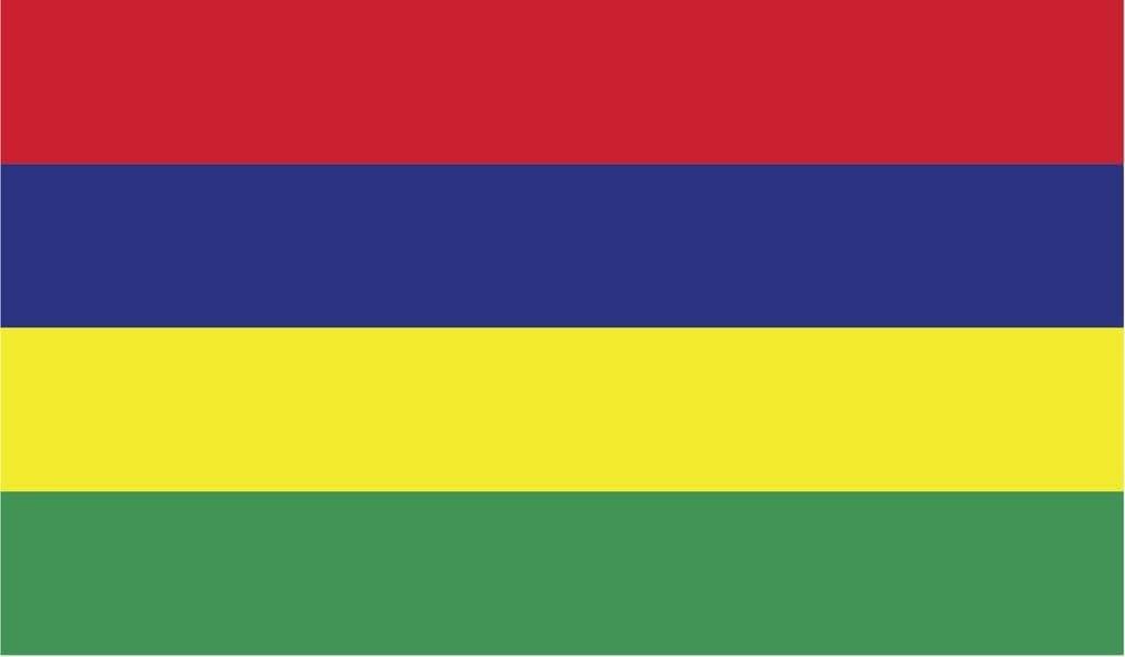 JMM Industries Mauritius Flag Vinyl Decal Sticker Repiblik Moris Car Window Bumper 2-Pack 5-Inches by 3-Inches Premium Quality UV-Resistant Laminate PDS481