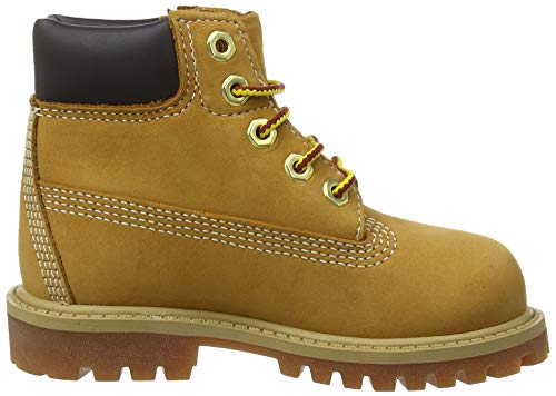 Enfant wheat Waterproof Bottes In Yellow Premium 6 Mixte Marron Timberland tx6Y77