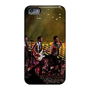 KellyLast Iphone 6 Shockproof Cell-phone Hard Cover Custom Vivid Red Hot Chili Peppers Pictures [YRG2901qqGj]
